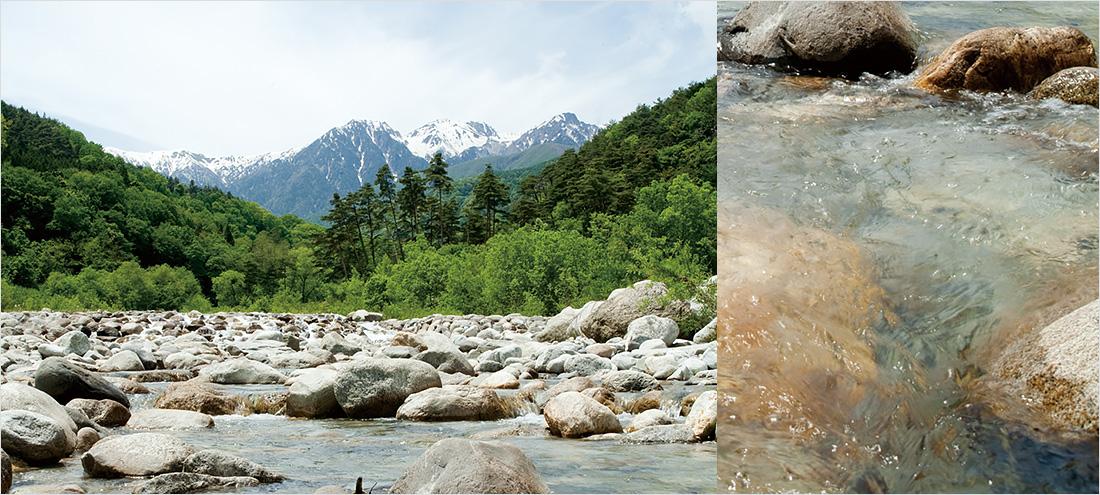 中央アルプスの名水イメージ